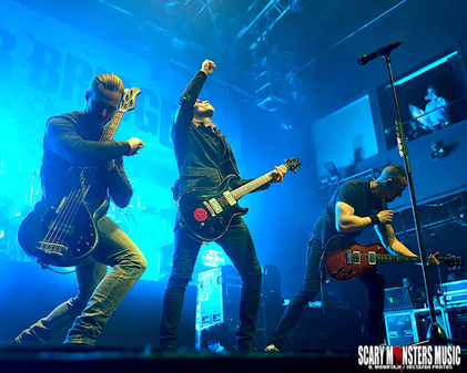 ALTER BRIDGE 'WALK THE SKY TOUR' with CLINT LOWERY  and DEEPFALL at HOB LV