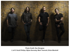 """ALTER BRIDGE RELEASE VIDEO FOR LATEST SINGLE """"GODSPEED"""" FROM THEIR CHART-TOPPING ALBUM'WALK THE"""