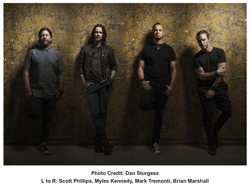 "ALTER BRIDGE RELEASE VIDEO FOR LATEST SINGLE ""GODSPEED"" FROM THEIR CHART-TOPPING ALBUM 'WALK THE"