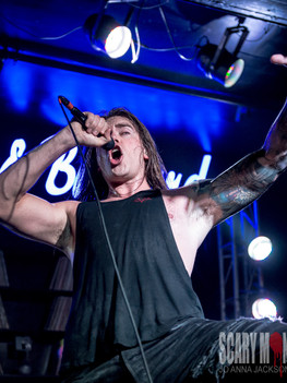 Oh Sleeper with Bloodied/Unbowed and Sold Out Show in Vegas with Hawthorne Heights