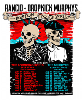 RANCID And DROPKICK MURPHYS Announce 'From Boston To Berkeley' TOUR
