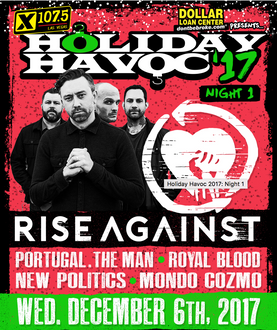 Holiday Havoc at the Joint with Rise Against