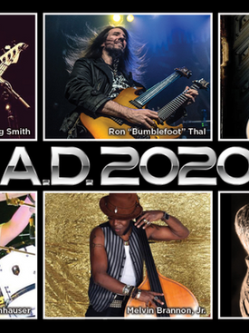 """A.D. 2020 release new single """"Ricochet"""" to all major platforms."""