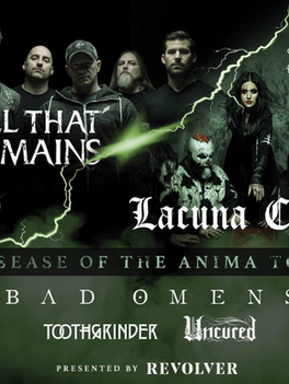 "LACUNA COIL RELEASE FIRST SINGLE AND VIDEO ""LAYERS OF TIME"" FROM NEW ALBUM 'BLACK ANIM"