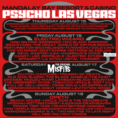 PSYCHO LAS VEGAS Begins Epic Festival Weekend at Mandalay Bay Complete with Immersive Experiences