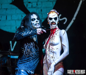 CARACH ANGREN with MORS PRINCIPIUM EST, WOLFHEART and EMPYREAN THRONE at BEAUTY BAR LV