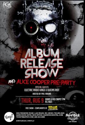 Phoenix Hard RockersCO-OP, featuringDash Cooper, to host Album Release Party / ALice Cooper Pre-Pa