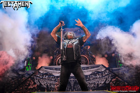 TESTAMENT with Sepultura, Prong, and Dying Gorgeous Lies at Brooklyn Bowl LV