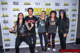 The Alice Cooper Band Official Pre Show Party All Star Jam at the Sayer's Club in Vegas