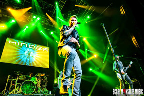 HINDER returns to Las Vegas with ROYAL BLISS and BRAVO DELTA at the HOB LV