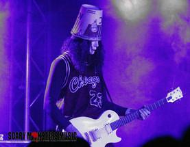 Buckethead Shreds at Vinyl Las Vegas Inside the Hard Rock LV