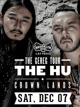 Mongolian rock phenomenon THE HU Bring 'hunnu rock' to Brooklyn Bowl in Vegas on December 7