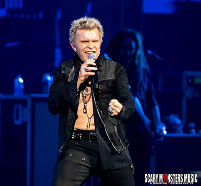BILLY IDOL is Hot in Sin City at Opening Night at the Pearl at the Palms