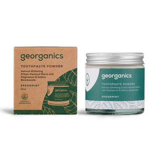 """Toothpaste powder: """"Spearmint"""" by Georganics"""