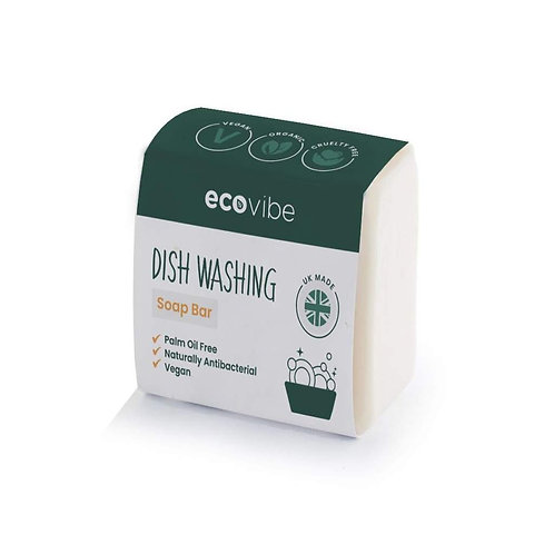 Handmade dishwashing soap bar by Ecovibe