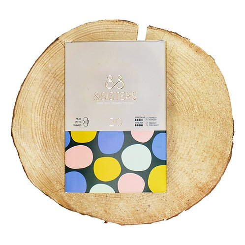 & Sisters Organic Pads with Wings - Day & Night (20)