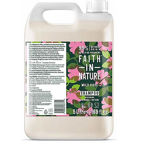 "Shampoo: ""Wild rose"" by Faith in Nature"