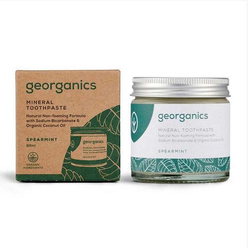 Toothpaste Jars by Georganics