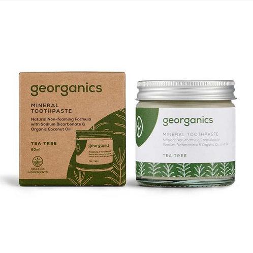 """Mineral toothpaste: """"Tea tree"""" by Georganics"""