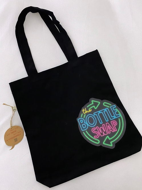 Recycled bottle tote bag