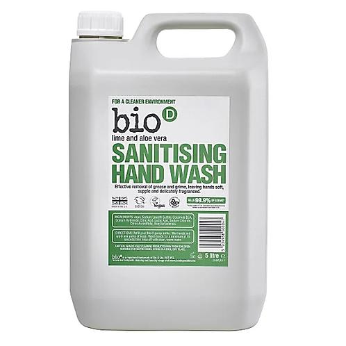 """Handwash: """"Lime & aloe vera"""" by BioD"""