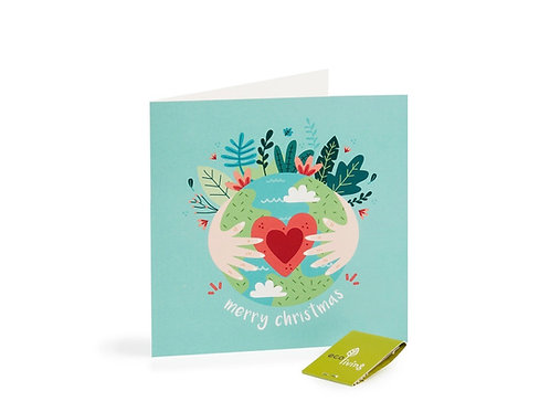 Recycled Christmas Card - Eco Earth (FSC 100%)