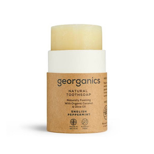 """Toothsoap: """"English peppermint"""" by Georganics"""
