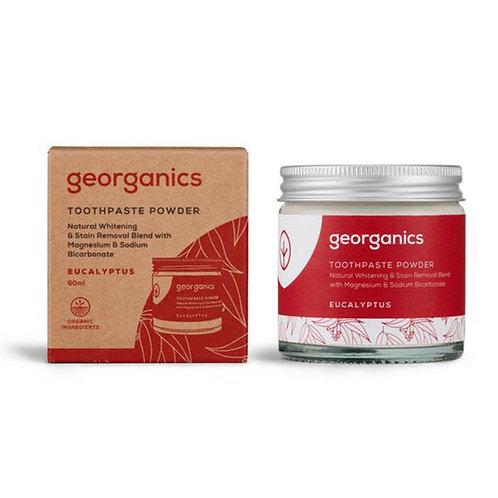 "Toothpaste powder: ""Eucalyptus"" by Georganics"