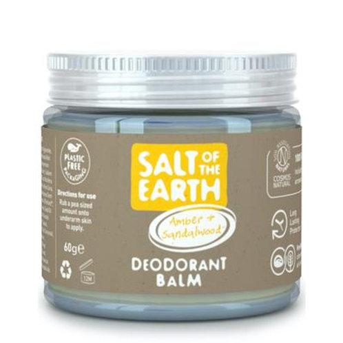 "Deodorant balm: ""Amber & sandalwood"" by Salt of the Earth"