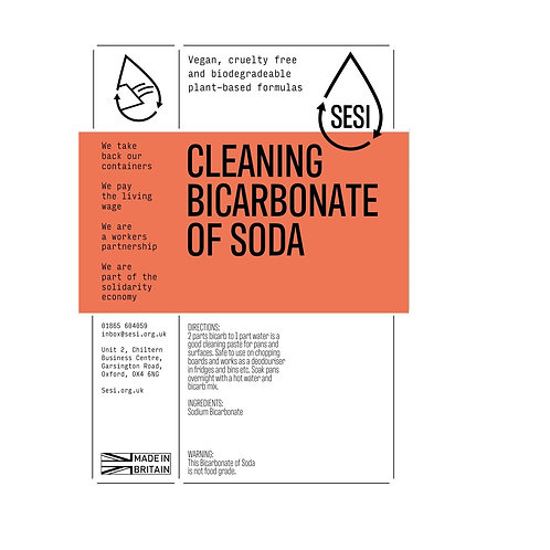 Bicarbonate of soda: by SESI