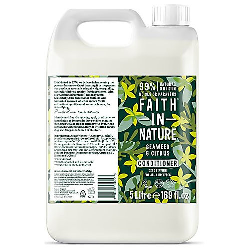 "Conditioner: ""Seaweed & citrus"" by Faith in Nature"
