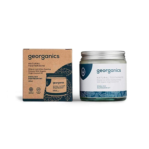 """Natural toothpaste: """"Peppermint"""" by Georganics"""