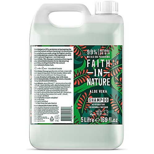 "Shampoo: ""Aloe vera"" by Faith in Nature"