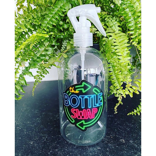 500ml recycled plastic mini trigger bottles