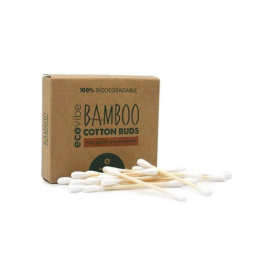 Bamboo cotton buds (100 pack) by Ecovibe