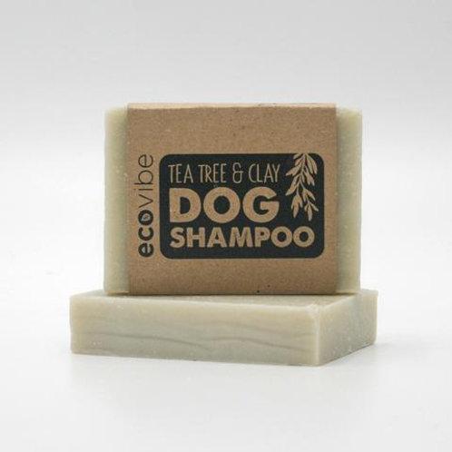 Tea tree & clay dog shampoo by Ecovibe