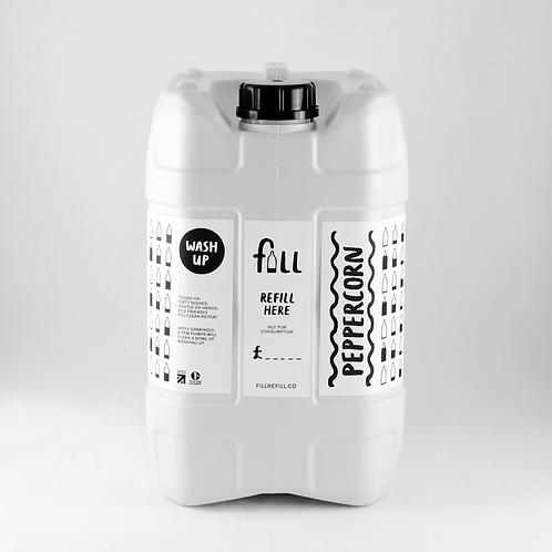 """Washing up liquid: """"Peppercorn"""" by Fill"""