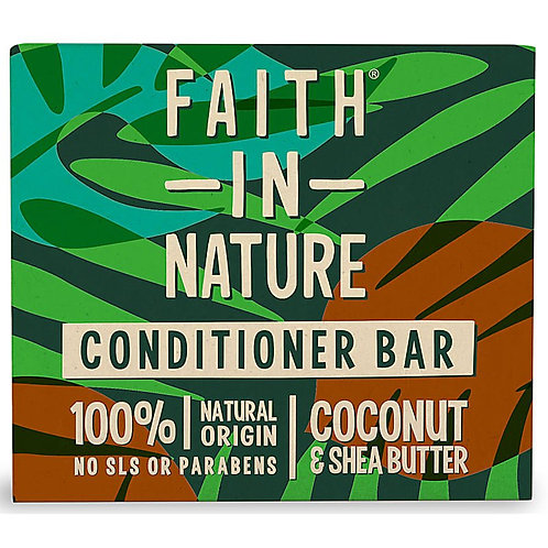 """Conditioner bar: """"Coconut & shea butter"""" by Faith in Nature"""