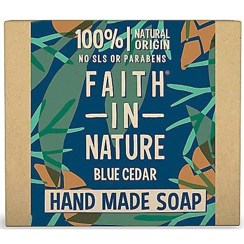 """Soap bar for face & body: """"Blue Cedar"""" by Faith in Nature"""