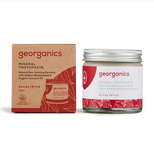 "Mineral toothpaste: ""Eucalyptus"" by Georganics"