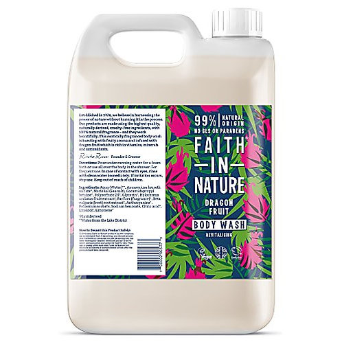 """Body wash: """"Dragonfruit"""" by Faith in Nature"""