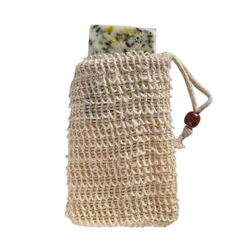 Hemp soap saver pouch