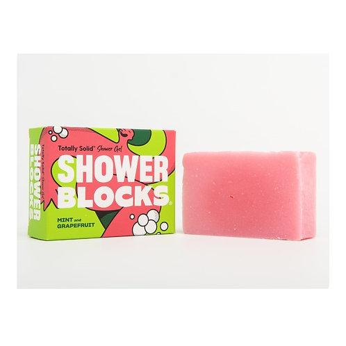 "Shower gel bar: ""Mint & grapefruit"" by Shower Blocks"