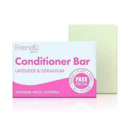 "Conditioner bar: ""Lavender & geranium"" by Friendly Soap"