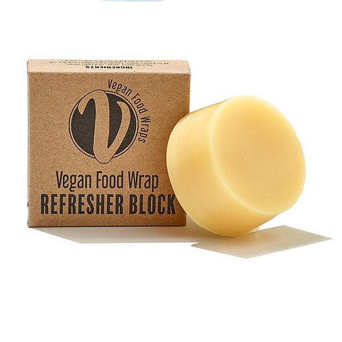 Vegan wax wraps refresher block by The Vegan Food Wrap Company