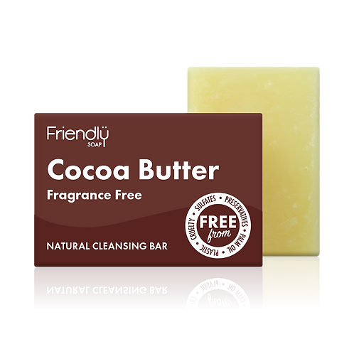 "Soap bar for face: ""Cocoa butter"" by Friendly Soap"