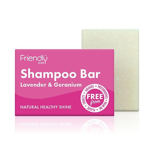 "Shampoo bar: ""Lavender & geranium"" by Friendly Soap"