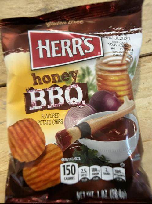 Herr's Honey bbq chips