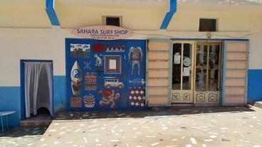 Samara Surf Shop - Photo libre de droit - Situé au Maroc