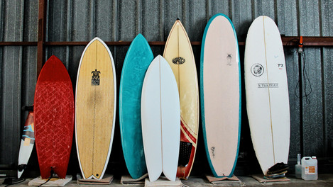Les différents styles de planche de surf